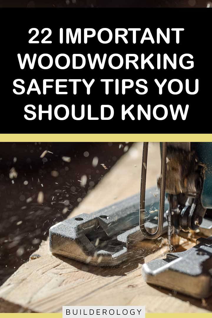 woodworking safety tips to know