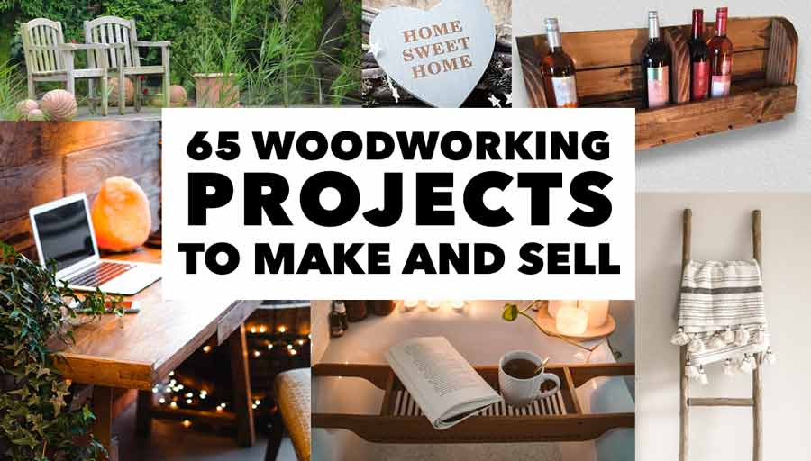 65 woodworking projects to sell cover