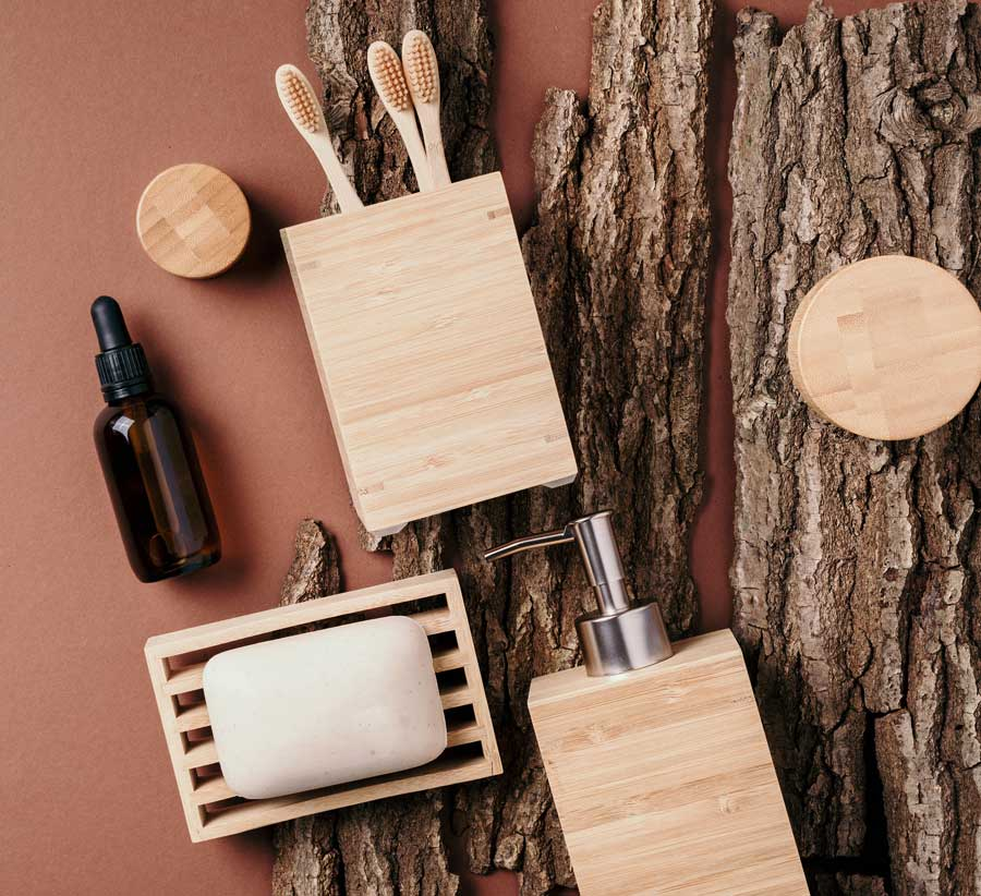 bamboo bath accessories