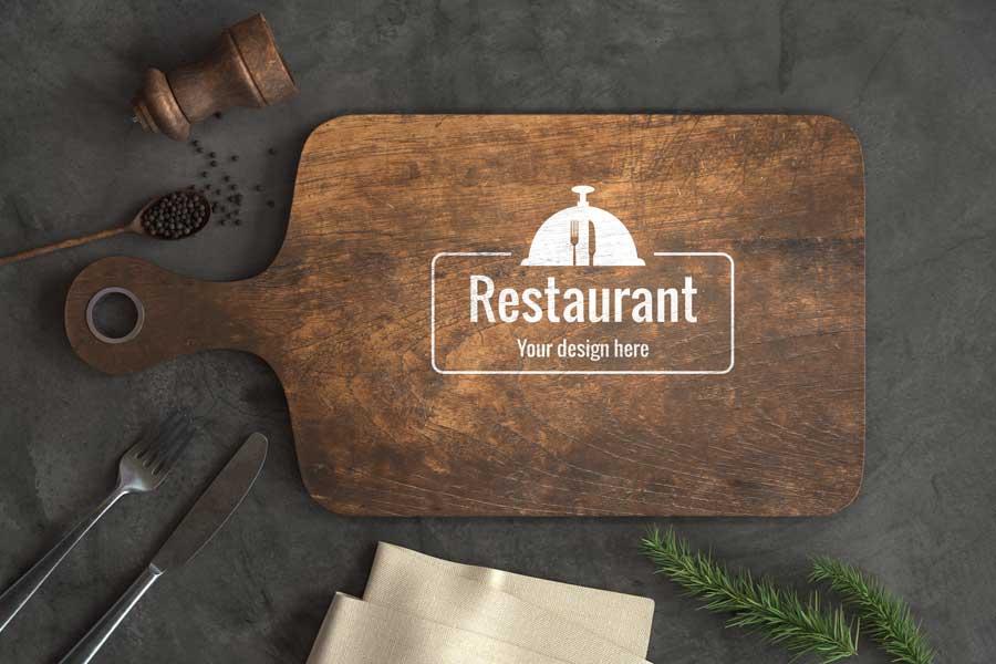 restaurant cutting board